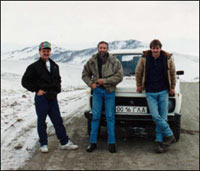 Dean, Mike and Pat in Russia